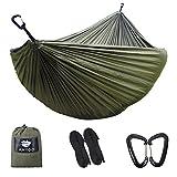 Anyoo Camping Fallschirm Hängematte Mit 3-m-Baum-Bügel, justierbarer...