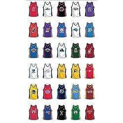 NBA equipos Jersey 30pared adhesivos pegatinas