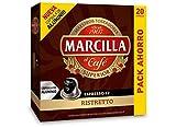 Capsulas Compatibles Nespresso* Marcilla Ristretto 20 Unidades