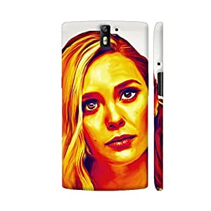 Colorpur OnePlus One Cover - Elisabeth Olsen Case