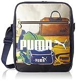 Puma Tasche Campus Flight Bag, Peacoat/Graphic, 28 x 35 x 11 cm, 11.4 Liter, 073656 01