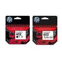 HP 652 F6V24A / F6V25A Orjinal Siyah ve Renkli Avantaj Paket Kartuş/HP Deskjet Ink Advantage 3835