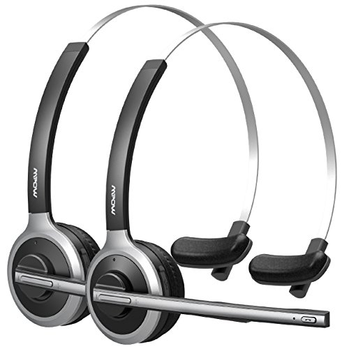 Mpow Auriculares Bluetooth con Micrófono para Oficina,