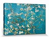 1art1 57147 Vincent Van Gogh - Blühende Mandelbaumzweige, 1890 Leinwandbild Auf Keilrahmen 120 x 80 cm