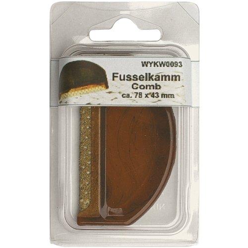 1 Stück Fusselkamm, Flusenkamm, Fusselentferner, im SB Blister, 0093