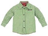BONDI Baby Jungen Langarm Trachtenhemd grün/weiß Artnr. 91065 Größe 68