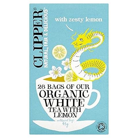 Clipper | White Tea with Lemon | 2 x 26 bags