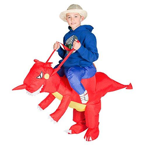 Aufblasbarer Wal Kostüm - Bodysocks® Aufblasbares Drachenkostüm für Kinder