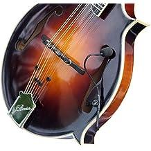 """'""""La piuma"""" mandolino Gelas pickup pick-up con collo flessibile micro-goose by Myers ~ see it in azione. Copia e incolla: myerspickups. com"""