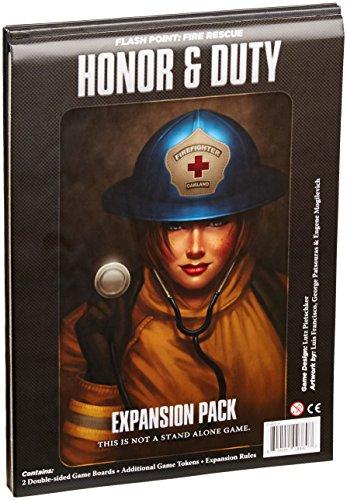"""Indie Board & Card Games Ibg0fp07""""Flash"""" Point Fire Rescue d'honneur et d'extension Duty """"Jeu"""