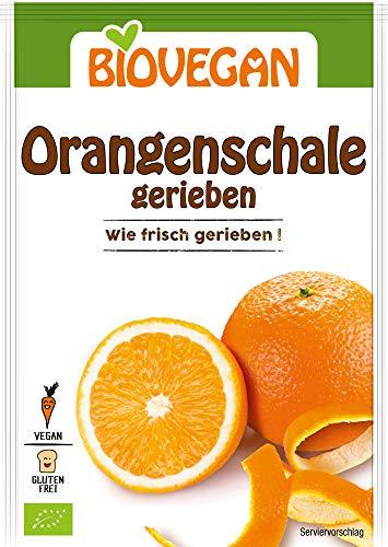 Biovegan Bio Orangenschale, gerieben (2 x 9g)