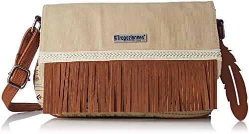 Womens Esc04-tz-beige Cross-Body Bag Beige Beige (Beige) Les Tropeziennes 43Y8cG