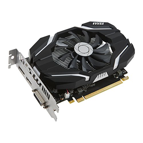 Cheapest Price for MSI NVIDIA GeForce GTX 1050 2G OC 2 GB GDDR5 128 Bit Memory HDMI/DP/DVI PCI Express 3 Graphics Card – Black Reviews