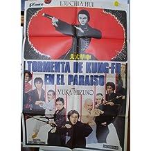 Cartel cine - Movie Poster : TORMENTA DE KUNG - FU EN EL PARAISO - Original