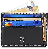 TRAVANDO ® Portefeuille Petit Porte-Monnaie Mince avec Blocage Piratage Protection RFID Bancaire, Billets, Porte Carte Monnaie Etui Hommes Cadeau