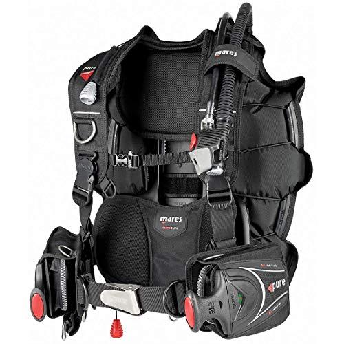 Mares Hybrid Pure SLS Gilet Stabilisateur Adulte Unisexe, Noir, XL