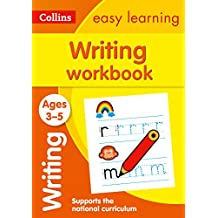 ‏‪Writing Workbook Ages 3-5: Prepare for Preschool with Easy Home Learning‬‏