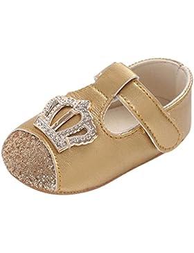 Zapatos Bebe Niña Verano, Zolimx 💕 Bebé Niña Cuero Suave Única Cuna Niño Recién Nacido Zapatos