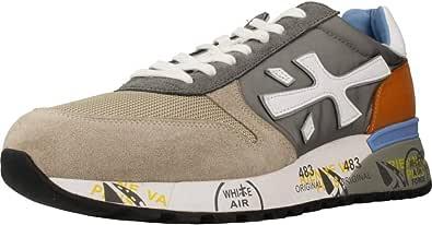 PREMIATA Mick 4570 Sneaker Uomo Grigia E Beige
