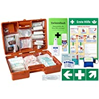 Erste-Hilfe-Koffer M5+Pro mit Din 13157 (Betriebe) & 13164 (KFZ) -Komplettpaket- inkl. Notfallbeatmungshilfe +... preisvergleich bei billige-tabletten.eu
