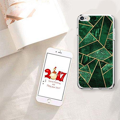 Coque Cover iPhone 6S Plus Souple Coque,MingKun Ultra-mince Motif Coréen Marbre TPU Bumper Case Cover Shell Coque pour iPhone 6S Plus Housse Etui pour iPhone 6 Plus 5.5 Pouces Motif Marbre Silicone TP Nouvelle Motif-2