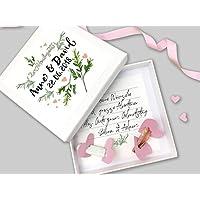 Geldgeschenk zur Hochzeit PERSONALISIERT Floral