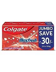 Colgate Maxfresh Spicy Fresh Red Gel Toothpaste - 450g
