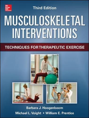Musculoskeletal Interventions 3/E por William Prentice