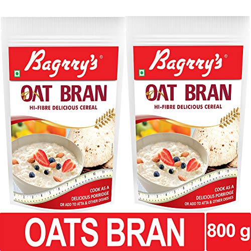 Bagrry's Oat Bran Pouch, 400 g-Pack of 2 (400x2)