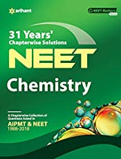 31 Years' Chapterwise Solutions CBSE AIPMT & NEET Chemistry
