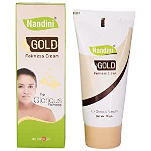 Nandini Gold Fairness Cream, 50g