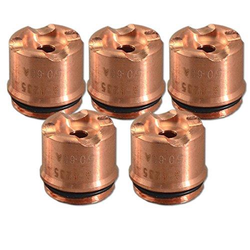 9-8235 Wärmedynamik SL60 / SL100 A120 Schild Schale 50-60Amp Plasma-Schneidbrenner 5PK (Plasmaschneider Thermal Dynamics)