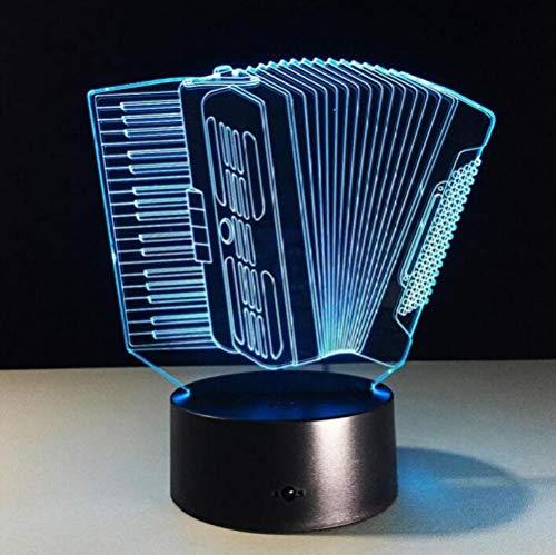 CTO Heller 3D Led Touch-Schalter USB-Akkordeon-Scheinwerfer Für Den Scheinwerfer,Schwarz,Lampe