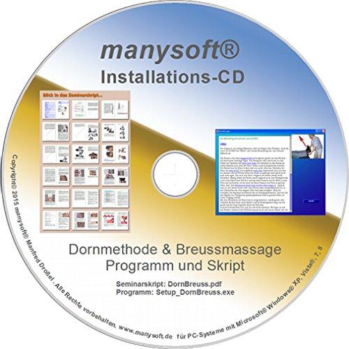 Massage-software (Dornmethode & Breussmassage (Software) inkl. Seminarskript)