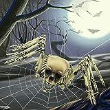 Spring Tide Halloween Decorazione Terrore Ragno A Otto Artigli Bar Casa Stregata Oggetti di Scena Decorativi Partito