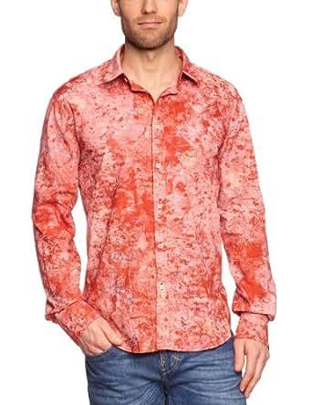 Mason's Herren Langarmshirt 2CU3160 CB911SB, Gr. 37/38 (S), Rot (red 399)