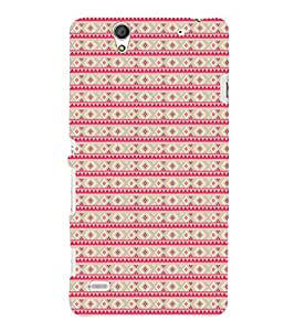 EPICCASE ethnic dots Mobile Back Case Cover For Sony Xperia C4 (Designer Case)