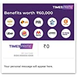 Flat 50% off at checkout||Times Prime E-Gift Card