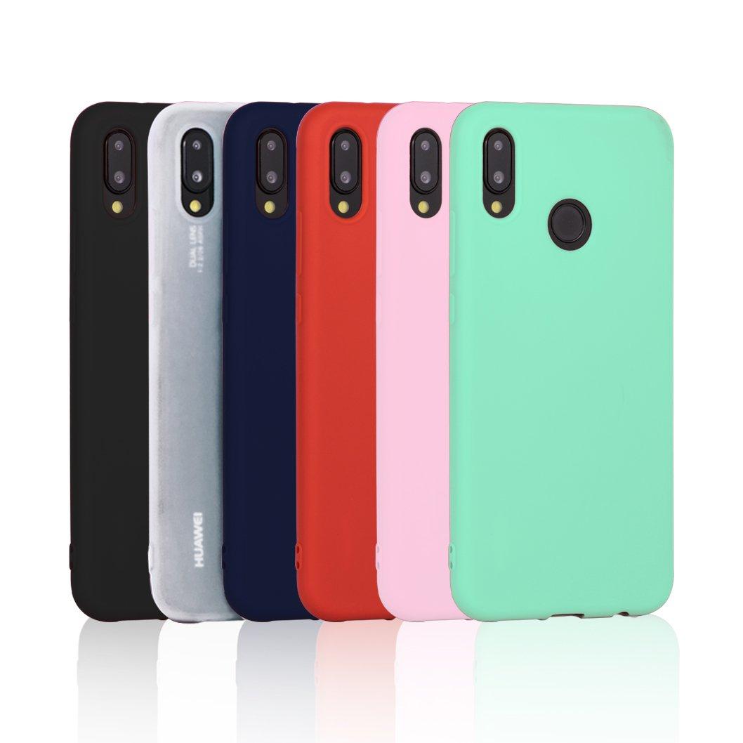 4d3bb610fed Comprar 6 x Funda para Huawei P20 Lite, Wanxideng Carcasa Suave Mate ...
