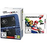 New Nintendo 3DS XL metallic blau(TN Variant) & Mario Kart 7 - [Nintendo 3DS]