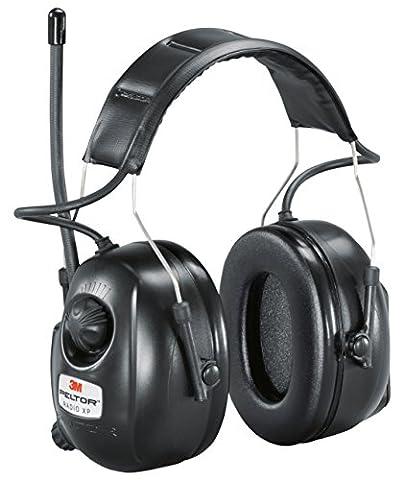 Casque radio XP 3M PELTOR, version serre-tête, noir, référence XP