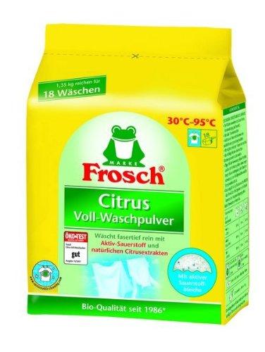 Frosch Citrus Voll-Waschpulver 1,35k -
