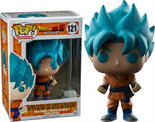 Funko - Super Son Goku God Blue Exclu Pop 10cm - 0849803097103