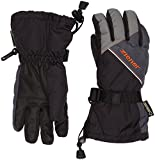 Ziener Kinder LOWIS GTX(R) Glove junior Skihandschuh, Black/Graphite, 6