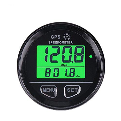 Medidor velocidad Digital GPS impermeable retroiluminación