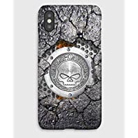 Harley-Davidson,coque pour iPhone XS, XS Max, XR, X, 8, 8+, 7, 7+, 6S, 6, 6S+, 6+, 5C, 5, 5S, 5SE, 4S, 4,