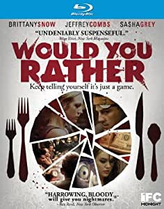 Would You Rather [Blu-ray] [2013] [US Import]
