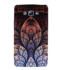 Fuson Premium Back Case Cover Floral Pattern With yellow Background Degined For Samsung Galaxy J7::Samsung Galaxy J7 J700F