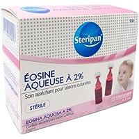 Steripan - Dosis individuales de eosina acuosa 10x 2ml - Pack de 2.