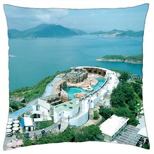 irocket-ocean-park-resort-in-hong-kong-throw-pillow-cover-24-x-24